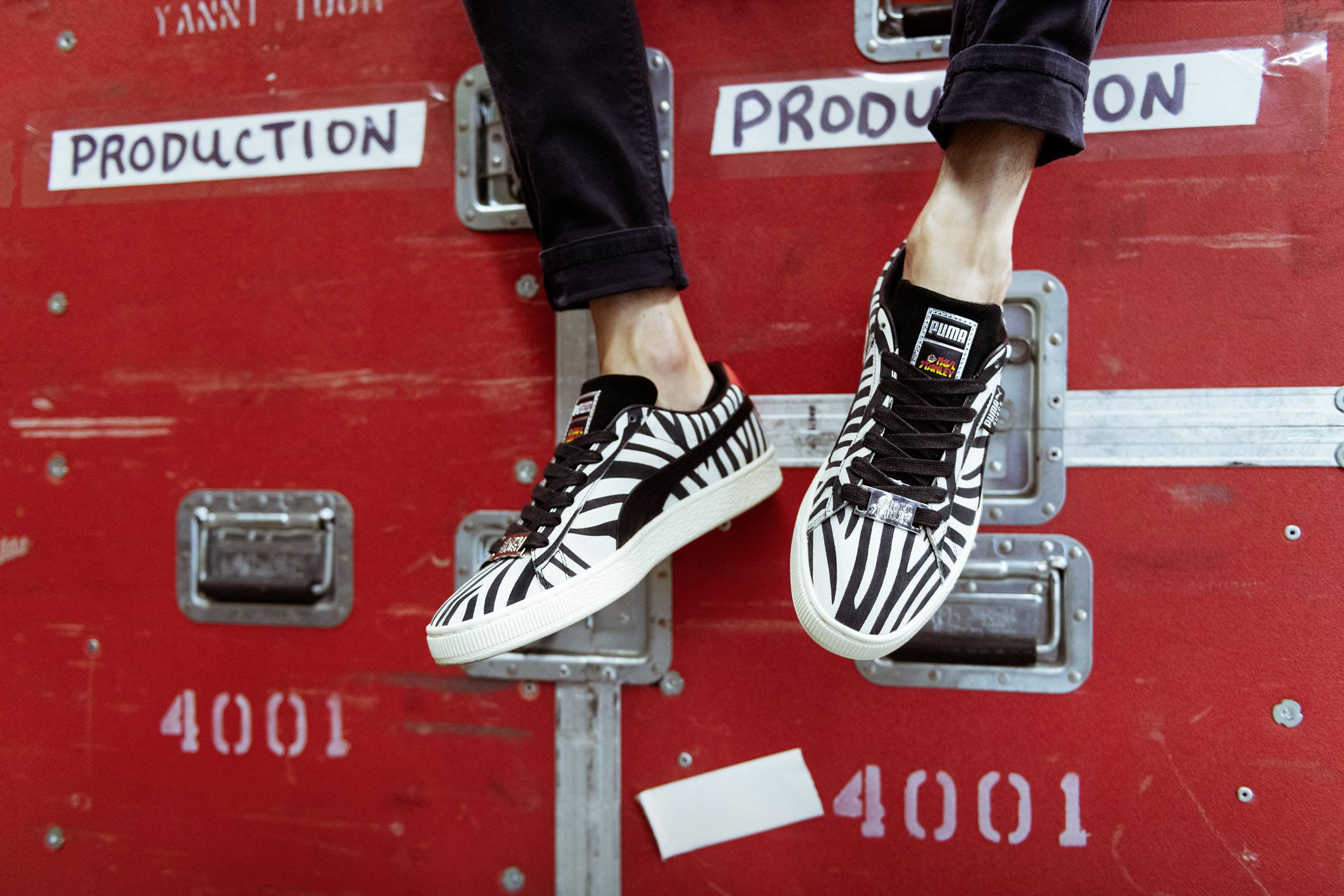 90eb51ace9cad5 Rock legend Paul Stanley collabs with PUMA for Iconic Suede drop ...